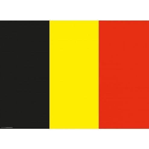 Tischset | Platzset - Belgien - aus Papier - 44 x 32 cm