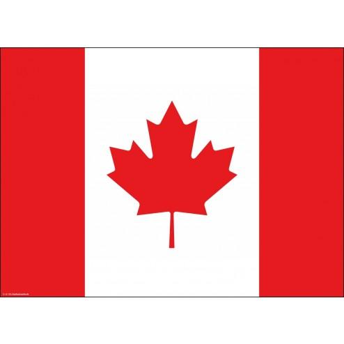 Tischset   Platzset - Kanada - aus Papier - 44 x 32 cm