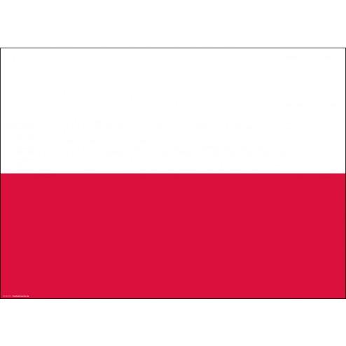 Tischset | Platzset - Polen - aus Papier - 44 x 32 cm