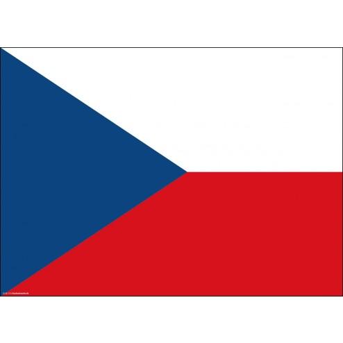 Tischset   Platzset - Tschechische Republik - aus Papier - 44 x 32 cm