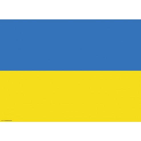 Tischset   Platzset - Ukraine - aus Papier - 44 x 32 cm