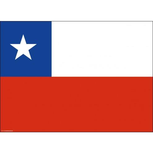 Tischset   Platzset - Chile - aus Papier - 44 x 32 cm
