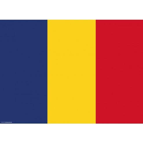 Tischset | Platzset - Rumänien - aus Papier - 44 x 32 cm