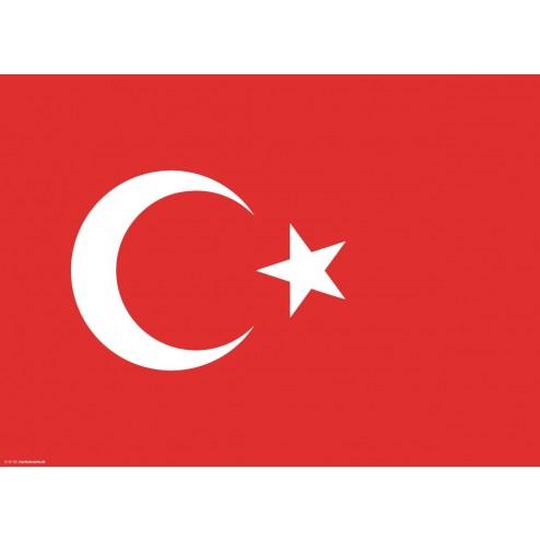 Tischset   Platzset - Türkei - aus Papier - 44 x 32 cm