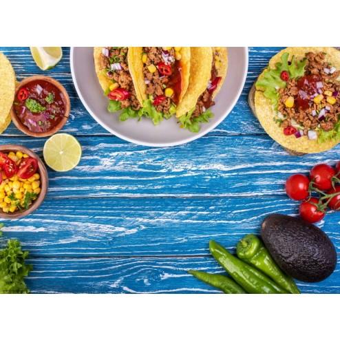 Taco Party - Tischset aus Papier 44 x 32 cm