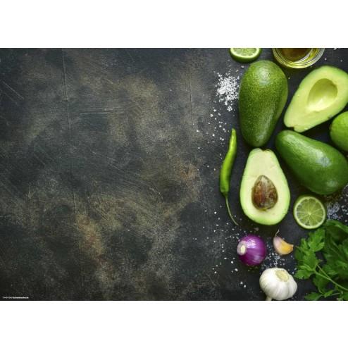 Avocados - Tischset aus Papier 44 x 32 cm