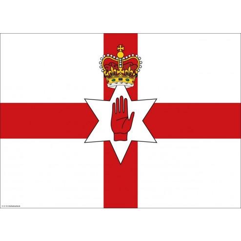 Flagge Nordirland - Tischset aus Papier 44 x 32 cm
