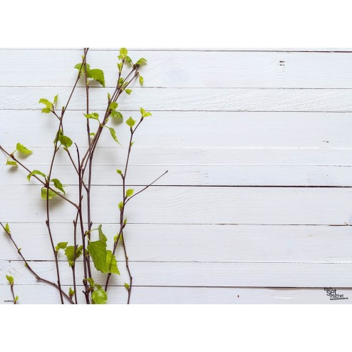 Frühlingszweige 2 - Tischset aus Papier 44 x 32 cm