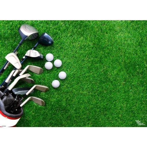 Tischsets   Platzsets - Golfschläger aus Papier - 44 x 32 cm
