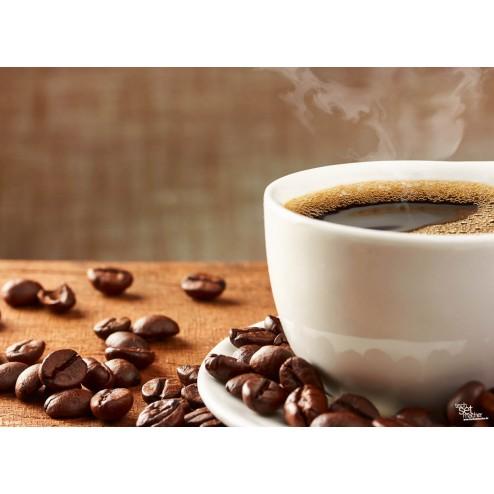 "Tischsets | Platzsets - Kaffee ""dampfende Kaffeetasse"" aus Papier - 44 x 32 cm"