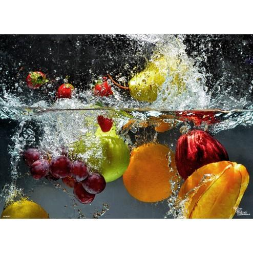 """Tischsets   Platzsets - Fruchtig """"Frische pur"""" aus Papier - 44 x 32 cm"""
