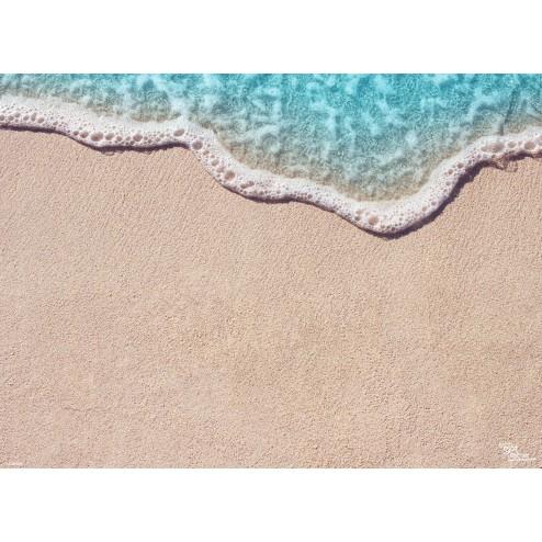 Tischset | Platzset - Kleine Welle - aus Papier - 44 x 32 cm