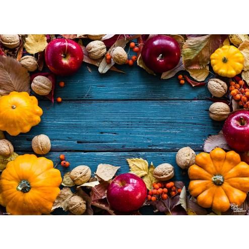 Tischsets | Platzsets - Herbstliches Dekor aus Papier - 44 x 32 cm