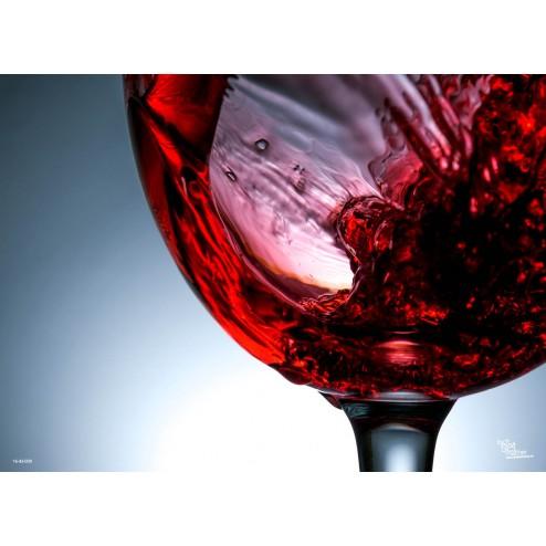 Tischset | Platzset - Rotwein - aus Papier - 44 x 32 cm