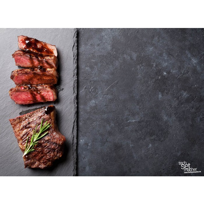 tischsets platzsets fleisch fleisch links aus papier 44 x 32 cm. Black Bedroom Furniture Sets. Home Design Ideas