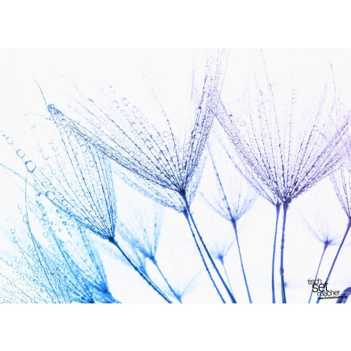 tischsets platzsets farbwelten pusteblume mit wassertropfen aus papier 44 x 32 cm. Black Bedroom Furniture Sets. Home Design Ideas