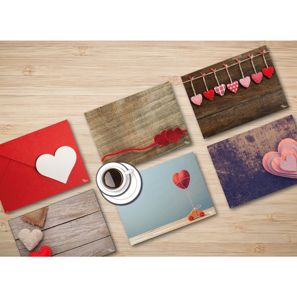 Tischsets Platzsets Valentinstag Valentinstagsset Fur Verliebte