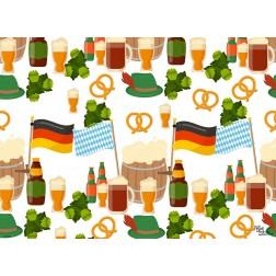 Tischset | Platzset - Biergrafik - aus Papier - 44 x 32 cm