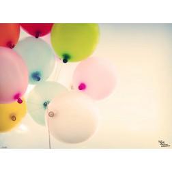 Tischset | Platzset - Luftballons - aus Papier - 44 x 32 cm