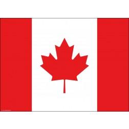 Tischset | Platzset - Kanada - aus Papier - 44 x 32 cm
