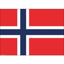 Tischset | Platzset - Norwegen - aus Papier - 44 x 32 cm