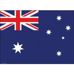 Tischset | Platzset - Australien - aus Papier - 44 x 32 cm