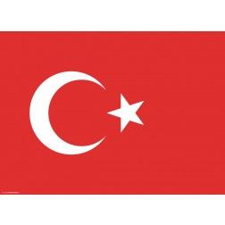 Tischset | Platzset - Türkei - aus Papier - 44 x 32 cm
