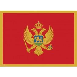 Tischset | Platzset - Montenegro - aus Papier - 44 x 32 cm