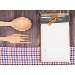 Tischset | Platzset - kleiner Notizblock - zum Selbstgestalten aus Papier - 44 x 32 cm