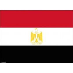 Flagge Ägypten - Tischset aus Papier 44 x 32 cm