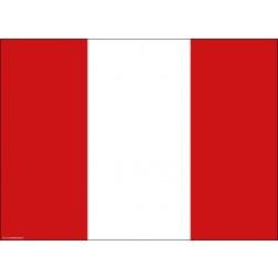 Flagge Peru - Tischset aus Papier 44 x 32 cm
