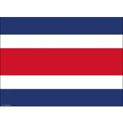 Flagge Costa Rica - Tischset aus Papier 44 x 32 cm
