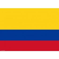 Flagge Kolumbien - Tischset aus Papier 44 x 32 cm