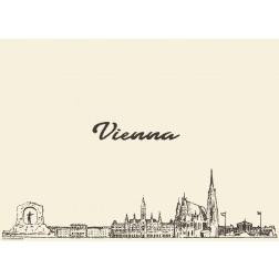 Wien - Tischset aus Papier 44 x 32 cm