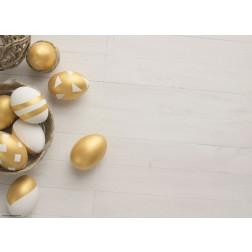 Goldene Eier - Tischset aus Papier 44 x 32 cm