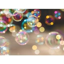 Seifenblasen - Tischset aus Papier 44 x 32 cm