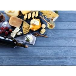 Käseplatte - Tischset aus Papier 44 x 32 cm