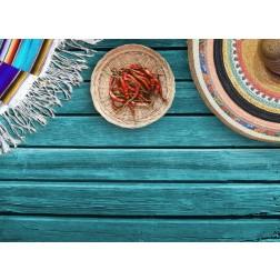 Jalapeños - Tischset aus Papier 44 x 32 cm