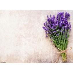 Lavendelstrauß  - Tischset aus Papier 44 x 32 cm