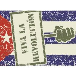 Viva la Revolution- Tischset aus Papier 44 x 32 cm
