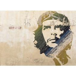 Che Guevara Wandmalerei - Tischset aus Papier 44 x 32 cm