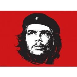Che Guevara Rot - Tischset aus Papier 44 x 32 cm