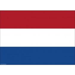Flagge Niederlande - Tischset aus Papier 44 x 32 cm