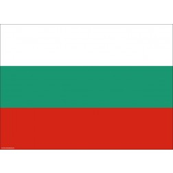 Flagge Bulgarien - Tischset aus Papier 44 x 32 cm