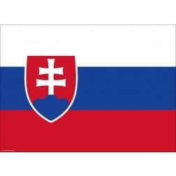 Flagge Slowakei - Tischset aus Papier 44 x 32 cm