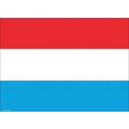 Flagge Luxemburg - Tischset aus Papier 44 x 32 cm