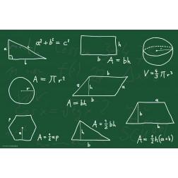 Tischset | Platzset - Mathematische Formeln - aus Papier - 44 x 32 cm