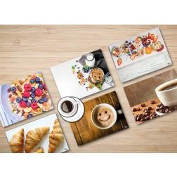 "Tischsets | Platzsets - Frühstück ""Guten Morgen Set"" aus Papier - 44 x 32 cm"