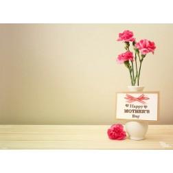 Tischset | Platzset - Muttertagsvase - aus Papier - 44 x 32 cm