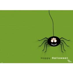Fröhliche Spinne - Tischset aus Papier 44 x 32 cm